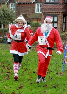 Santa run competition winner