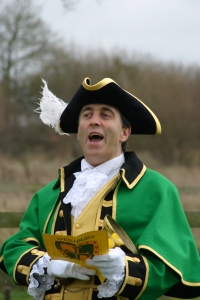 Wiltshire launch town crier