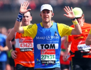 VLM charity runner