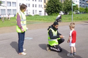 junior parkrun volunteers