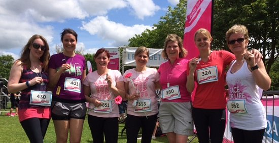 Marlborough Race For Life group