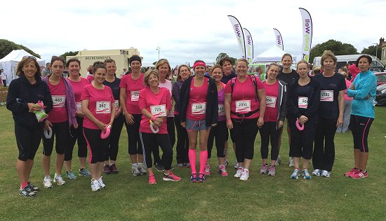 Blister Sisters women only running group in Kent