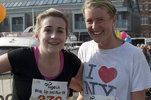 Age UK events 2015 - two female runners