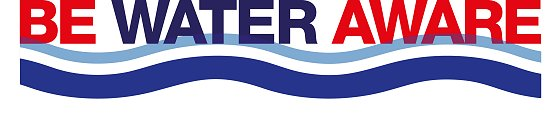 Be Water Aware logo